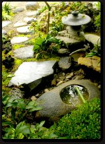 和風の庭のイメージ