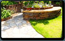完成した庭のイメージ