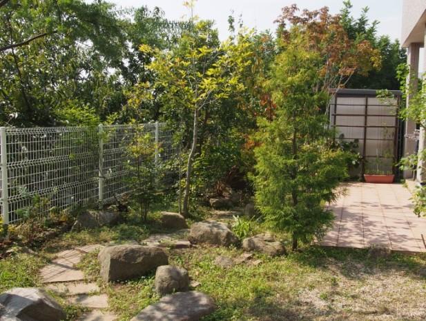 nissin_h1庭の全景