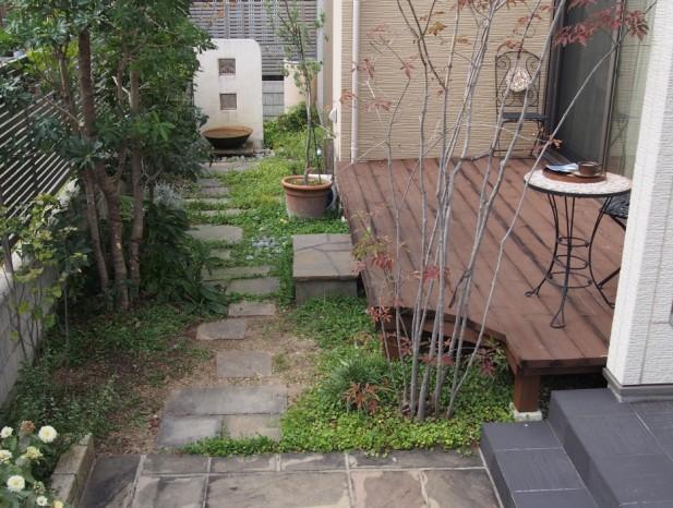 kitanagoya_y1庭の全景