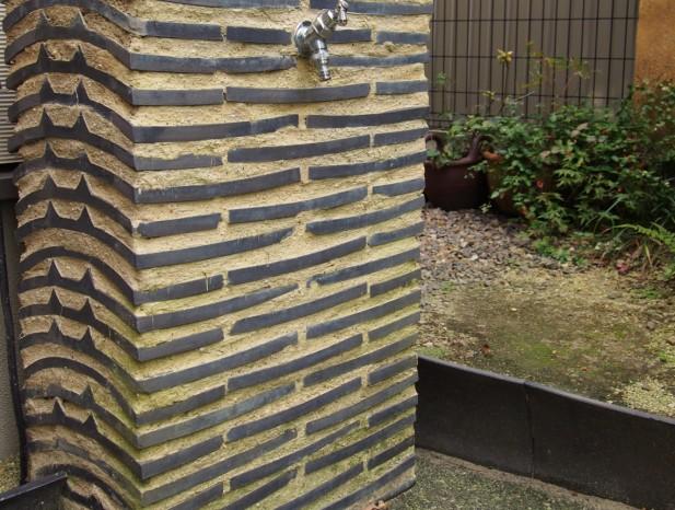 atuta_m10遊び心の信長塀風の立水栓