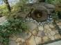 toyoake_m5今まであった石を使いつくばい風に見せる