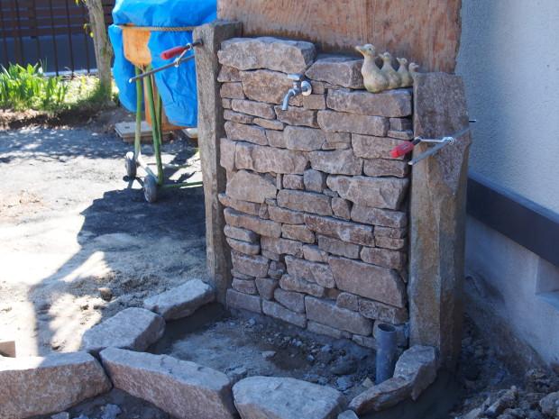 気良石の立水栓