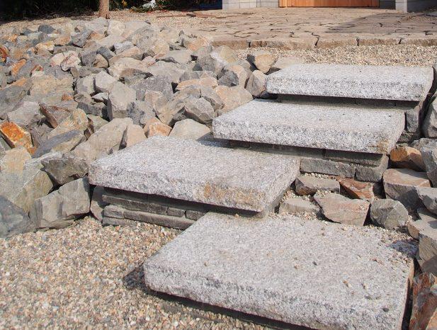 浮石の階段