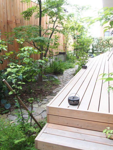 バードバスの庭